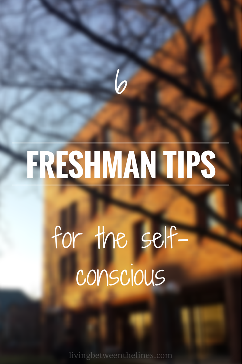 freshman advice We asked our twitter followers in their final year of high school to share the one piece of advice they wish they could have given their freshman selves.