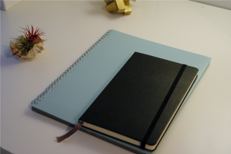 Planners work better when they're portable - bullet journals let you downsize to something you can take anywhere.