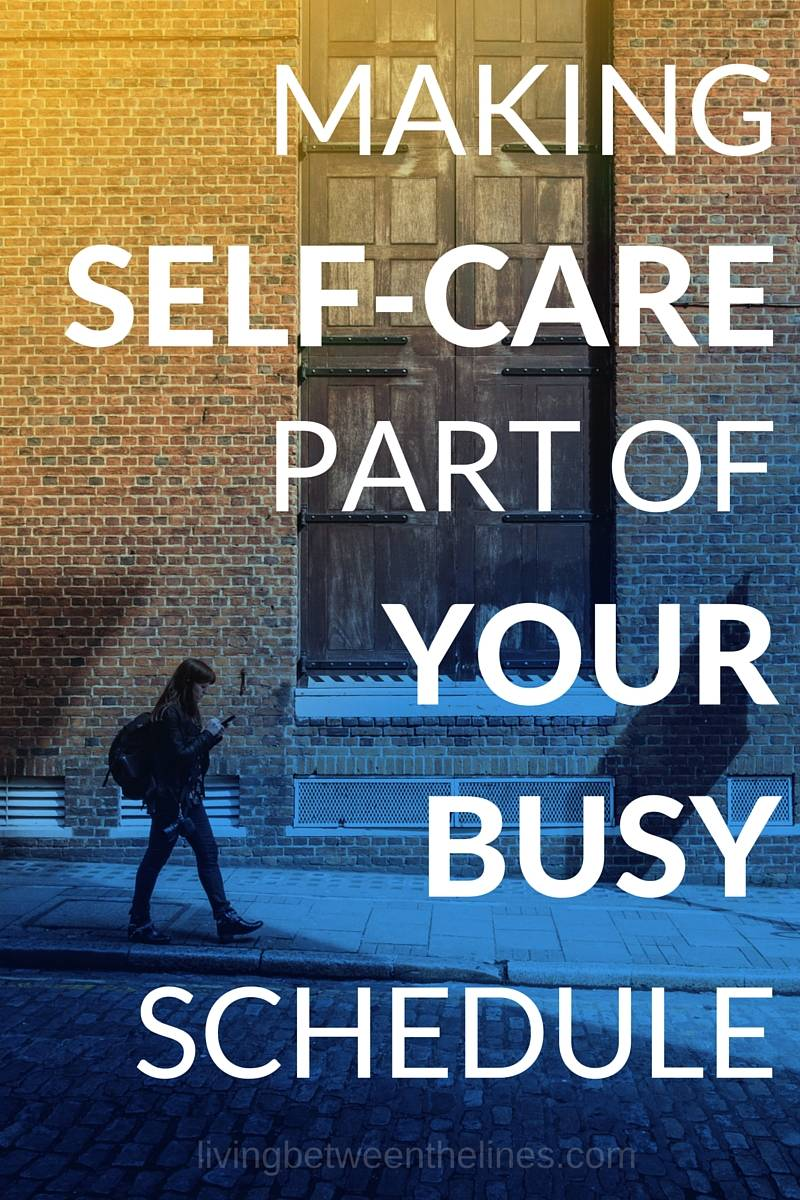 Self-care is important, but when your life is hectic and you need it most, it's hard to take time for yourself. But if you work self-care into your life as it is, you'll find it so much easier to treat yourself with the respect you deserve!