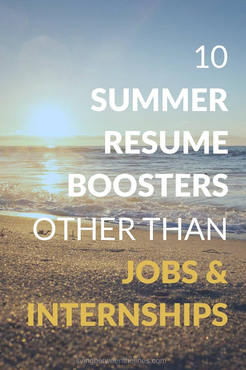 Whether you've made summer work plans or not, these summer resume boosters will help you show employers your best skills and accomplishments.