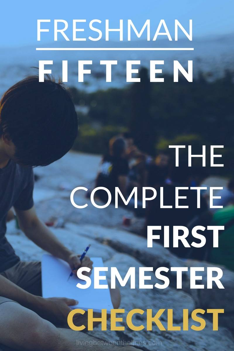This checklist will help you stay on track during your first semester of college.