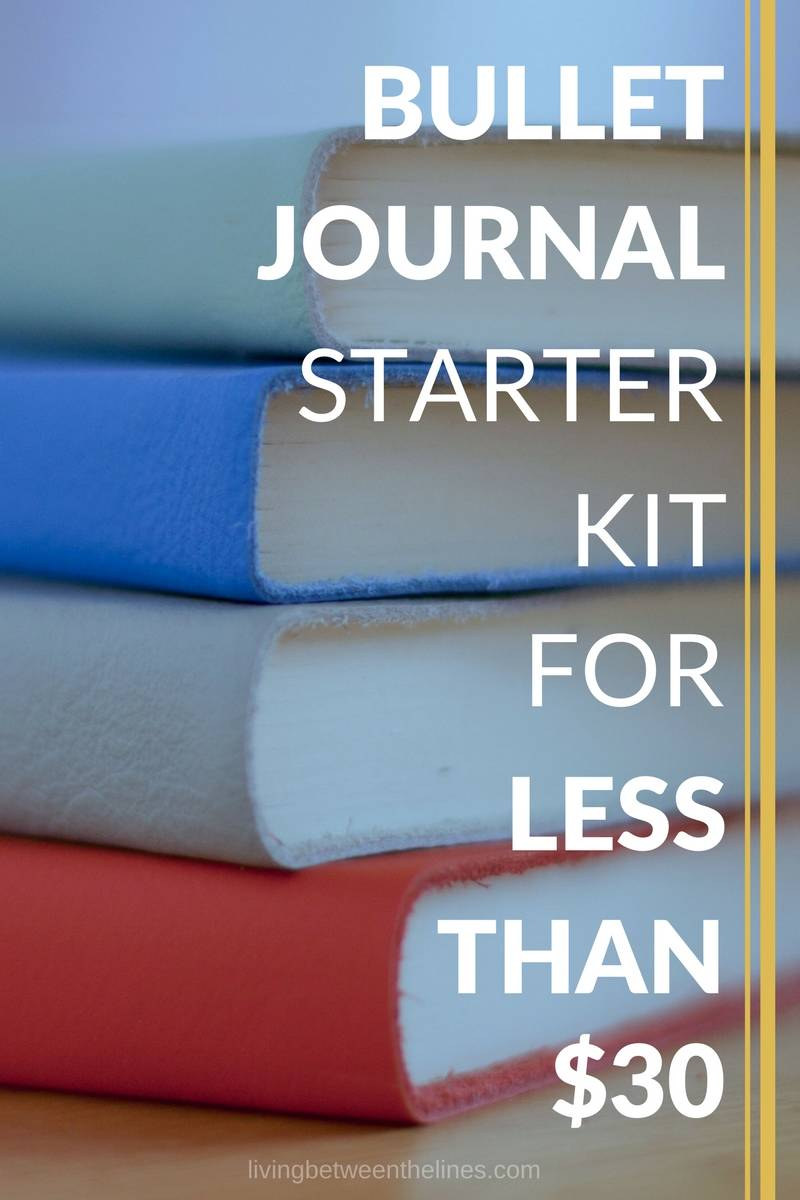 This bullet journal starter kit will help you set up your first bullet journal with high quality supplies for less than $30.